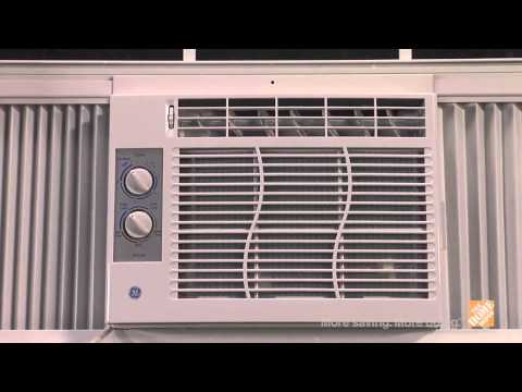 GE 6,300 BTU Window Air Conditioner with Remote  - The Home Depot
