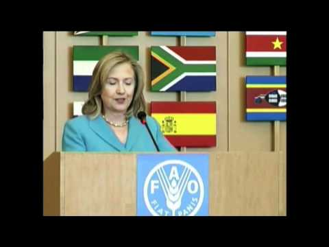 Secretary Clinton: Supporting Women Farmers