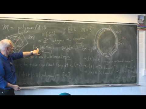 AlgTop24d: The fundamental group (last)