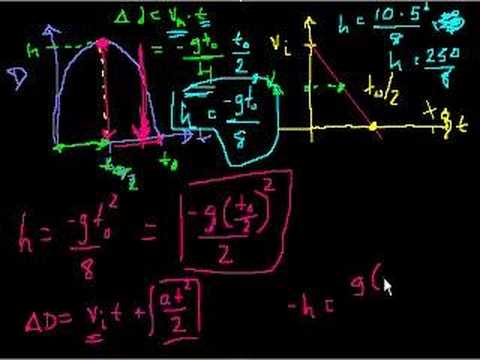 Projectile motion (part 8)