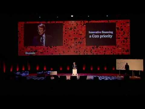 TEDx Brussels 2010 - Bernard Kouchner - Innovating Finance