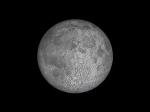 Moon wobbles in NASA animation
