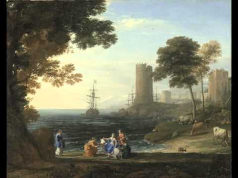 Coast View with the Abduction of Europa, Claude Lorrain