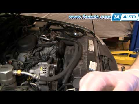 How To Install Replace Serpentine Belt Chevy GMC S10 Blazer Jimmy & Pickup 4.3L 98-00 1AAuto.com