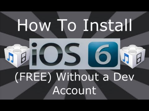 How To Install NEW iOS 6 Final Edition