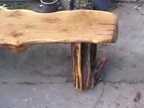 From Vlog 6 The finised coffee table , using Welsh oak