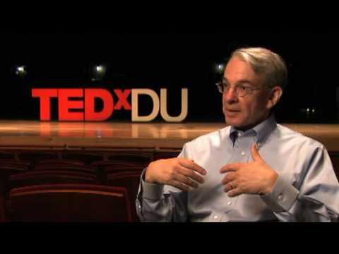 TEDxDU - Chancellor Bob Coombe - Inspiring action