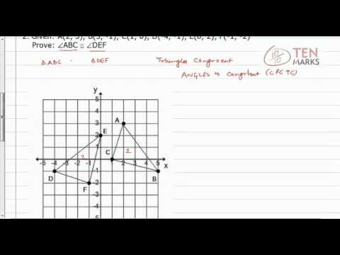 Using Corresponding Parts of Congruent Triangles (CPCT)