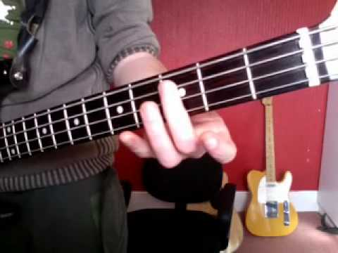 Learn simple Bass riffs: Radiohead: Creep