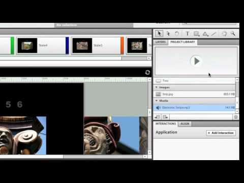 Flash Catalyst CS5.5 - Add Audio to a Catalyst Presentation