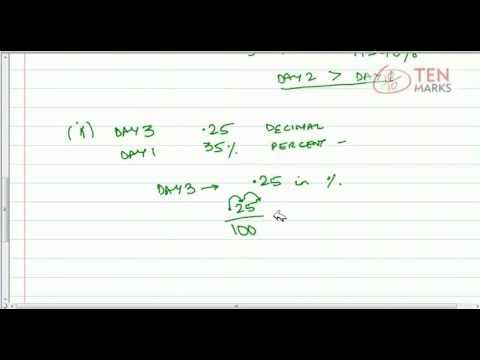 Compare Percents, Fractions, and Decimals