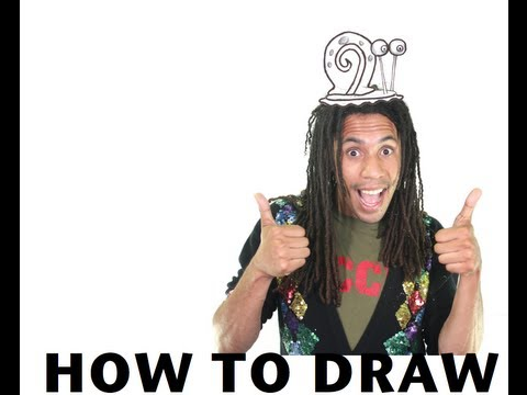 How to Draw Gary the Snail