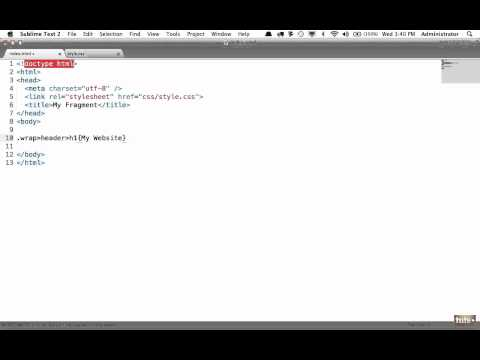 Day 23: Zen Coding (30 Days to Learn HTML & CSS)