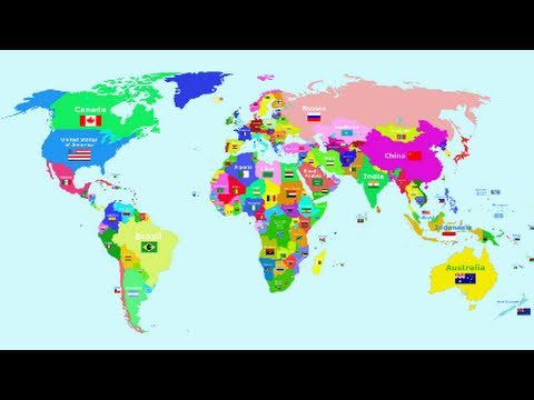 The Countries of the World Song - The World