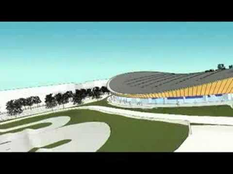 Chris Hoy on the London VeloPark design  - London 2012