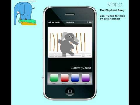 Notebook Application - The yTouch Elephant