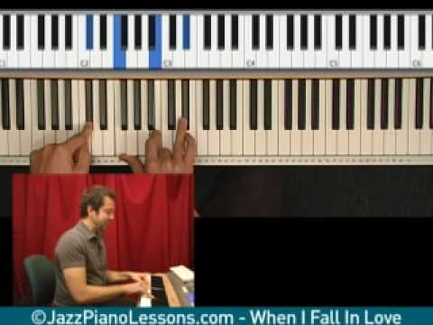 When I Fall In Love - Learn Jazz Piano
