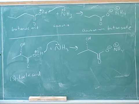 Organic chemistry: Carboxylic acids (5)