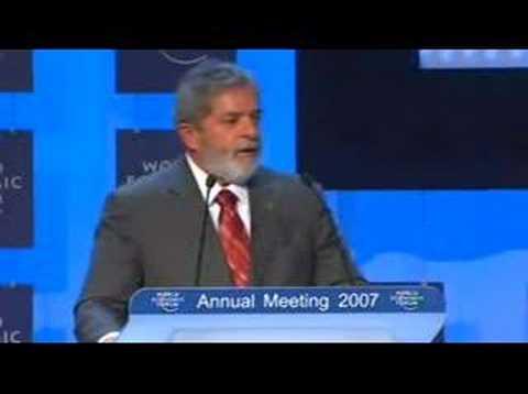 Forum Economique Mondial 2007 - A Conversation with Lula...