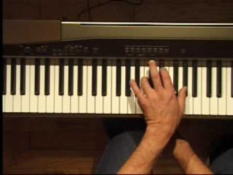 Piano Lesson - Ab Major Triad Inversions (Left Hand)