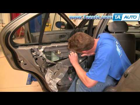 How To Install Replace Rear Inside Door Handle Nissan Altima 98-01 1AAuto.com