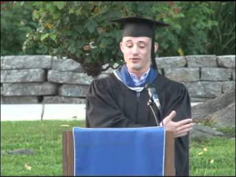 Steven Fabian's Alverno High School Commencement Address