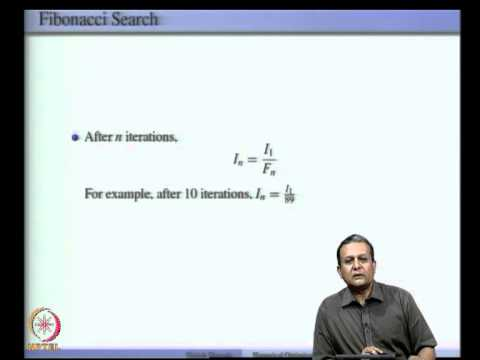 Mod-03 Lec-05 One Dimensional Optimization (contd)