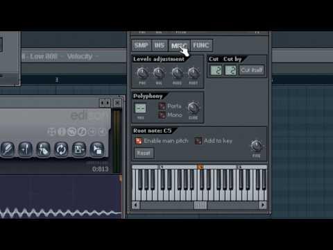 FL Studio Professional - Tune Your Kicks - Warbeats.com Tutorial