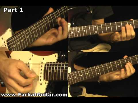 Revolution - The Beatles Guitar Cover Part 1  www.FarhatGuitar.com
