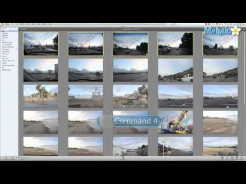 Learn iPhoto 11 - How to Rate Your Photos
