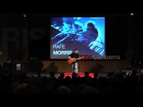 TEDxCanberra - Rafe Morris - Funny songs about real life