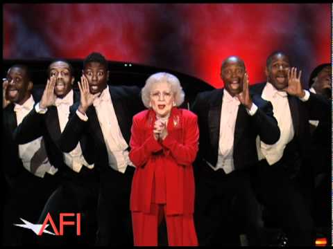 Betty White Surprises Morgan Freeman at the 39th AFI Life Achievement Award