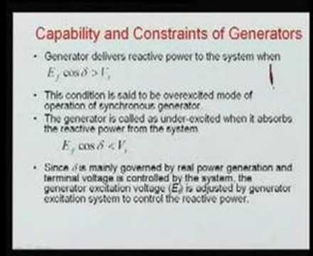 Module 2 Lecture 2 Power System Operations and Control