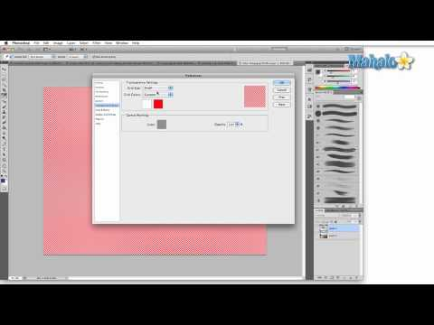 Learn Adobe Photoshop - Transparency and Gamut Preferences