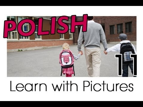 Learn Polish with Pictures - In the Classroom