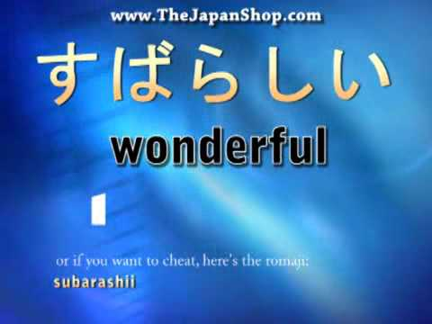 Japanese Beginner's Conversation - Feelings with a 'shii'