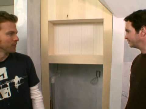 Built-In Storage Cabinet-DIY