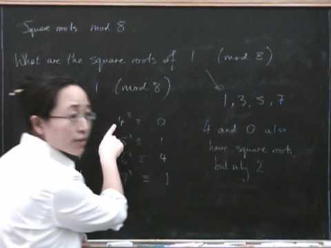 Modular arithmetic 7