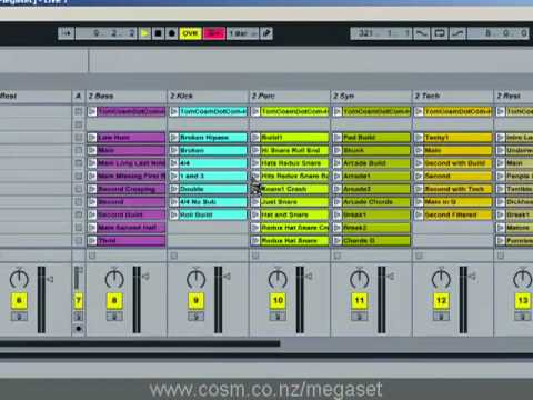 Tom Cosm - Megaset .1 (the ultimate Ableton Live set) - Part 1