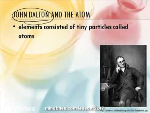 Chemistry 2.1: History of the Atom