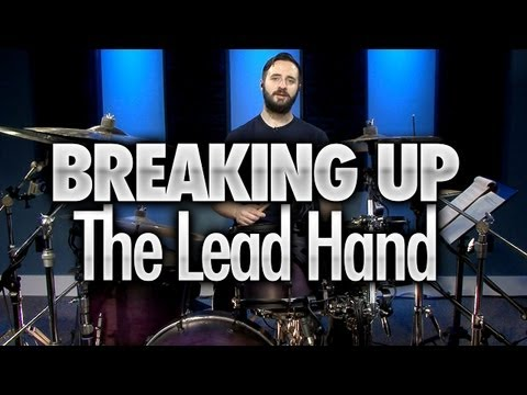 Heavy Metal Drumming - Breaking Up the Lead Hand