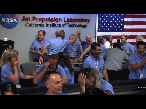 Mars Curiosity Rover Landing a Success — NASA Jubilant