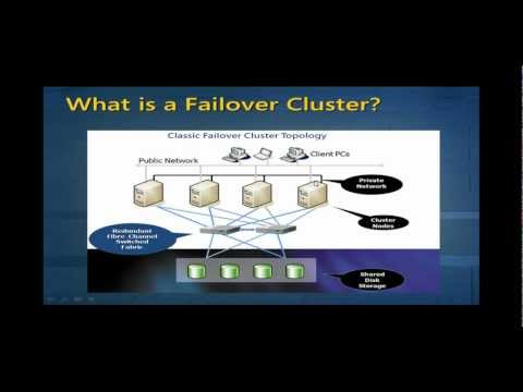 SQL Server 2012 Failover Cluster - Free Training