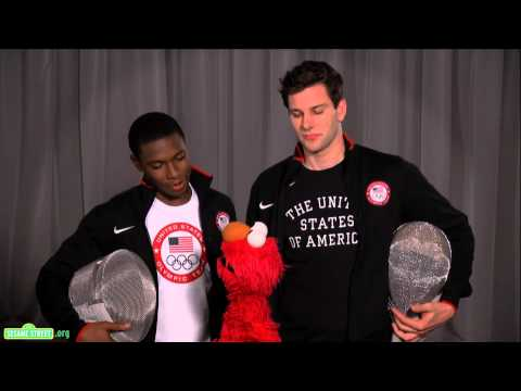 Sesame Street:Elmo and Team USA Fencers Tim Morehouse and Daryl Homer Discuss Teamwork
