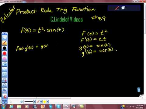 AP Calculus Power Rule and Trigonometric Function