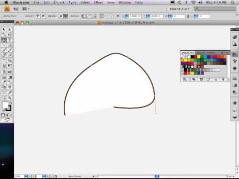 Part 2 of 9: Adobe Illustrator map THE PEN TOOL