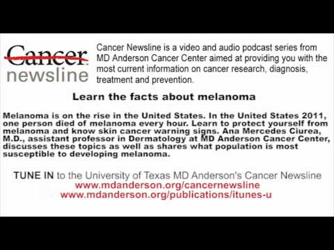 Learn the facts about melanoma