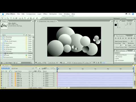 Total Training for Adobe After Effects CS3 Essentials Ch1 L2 Importing Illustrator® Files