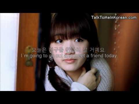 (Start here) Interactive Korean Videos - Story #1