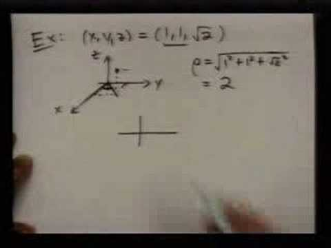 spherical coordinates intro part 1